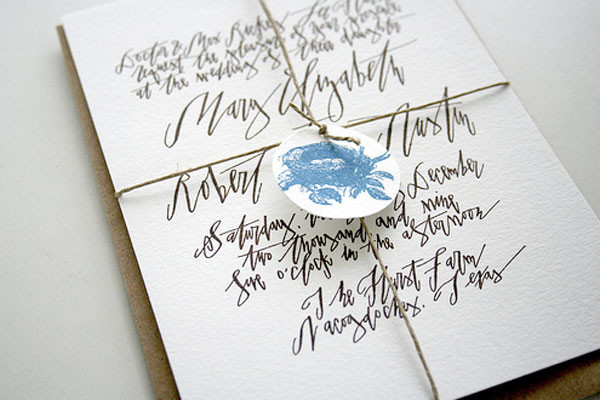 Betsy Dunlap Calligraphy Vendor A List 100 Layer Cake
