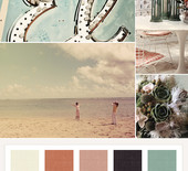 Muted jewel tones