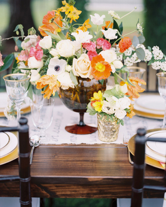 A Surprise Wedding At The Bride S Rose Farm In California: Bright, Modern Wedding Ideas