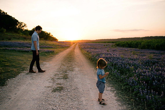 Texas Blue Bonnet Family Photos by Alysha Rainwaters | 100 Layer Cakelet