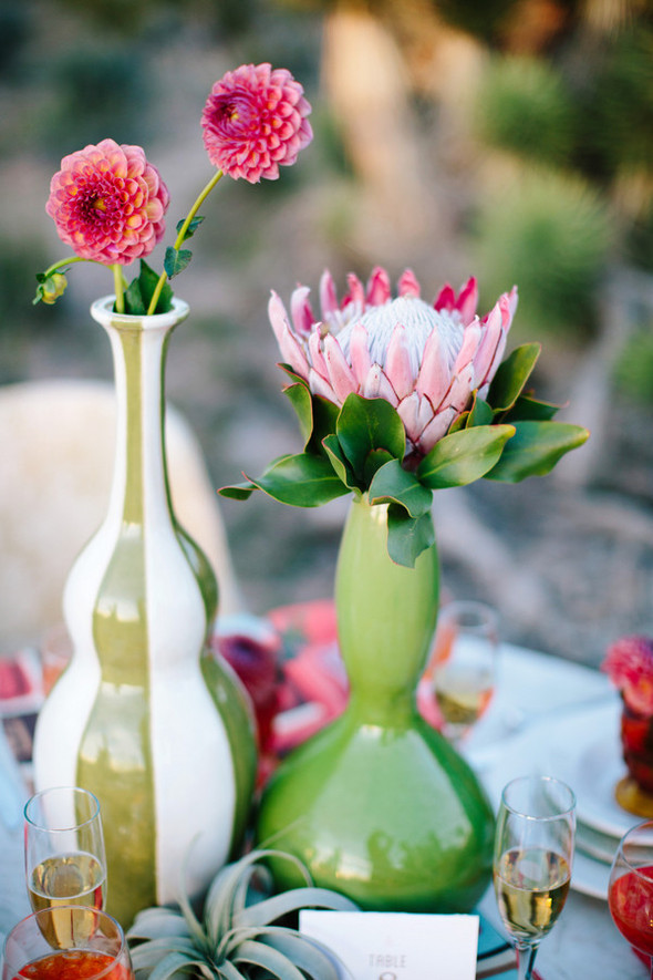 Southwest midcentury modern wedding inspiration