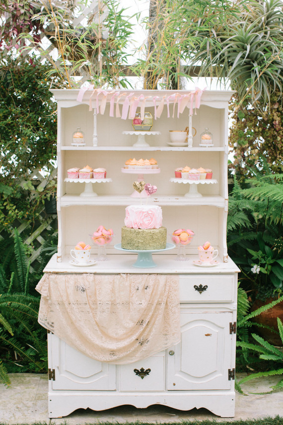 Dessert tables display