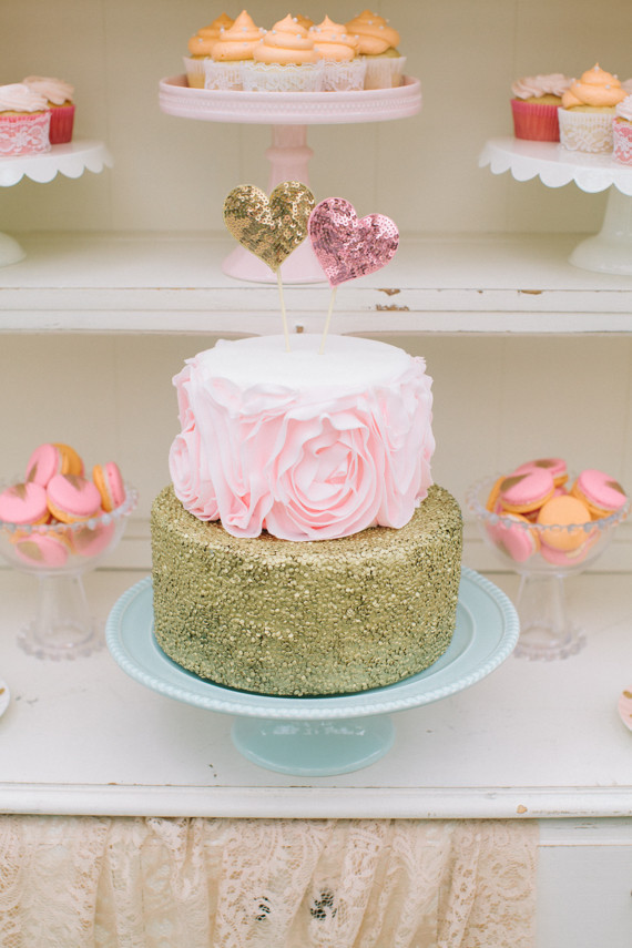 Whimsical pastel garden wedding inspiration - 100 Layer Cake