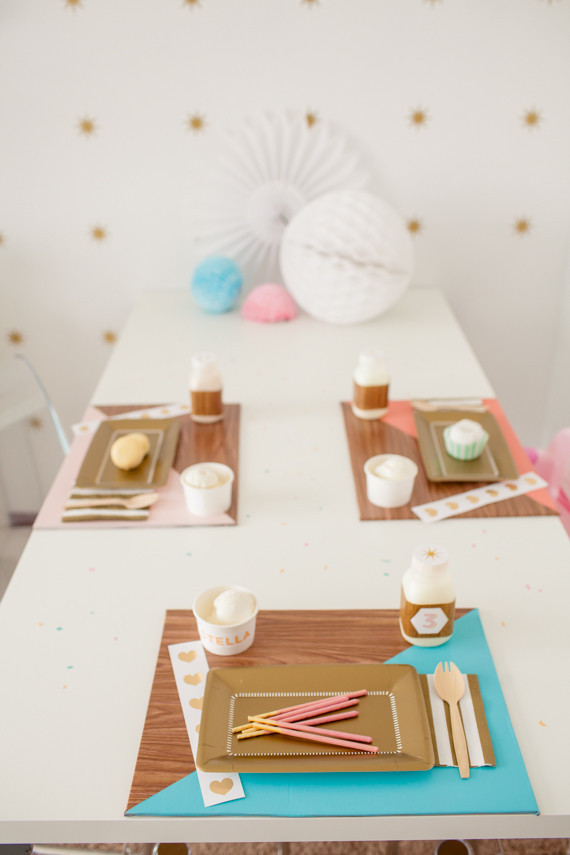 birthday tablescape idea