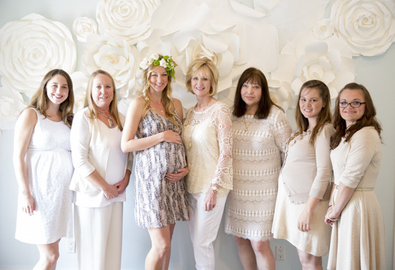 Floral baby shower by TOAST Santa Barbara
