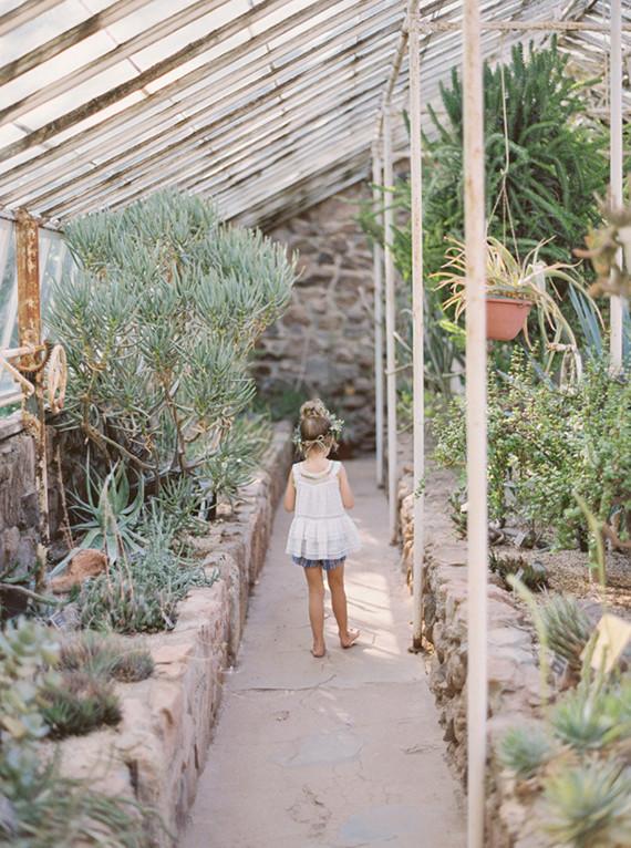 Botanical garden portraits