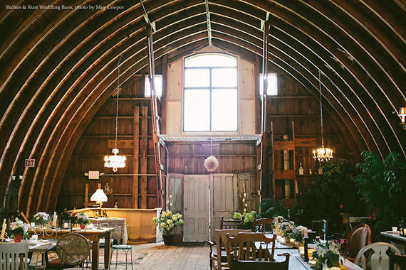 rubies rust barn wedding venue