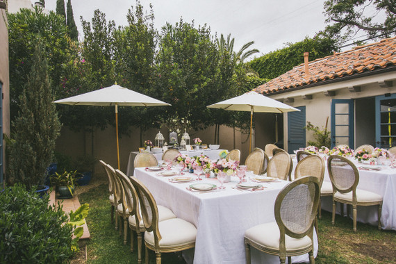 santa monica backyard baby shower by sterling social baby showers