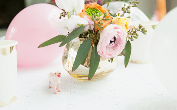 Sweet floral arrangement