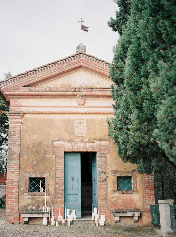 Elegant Tuscan countryside wedding venue
