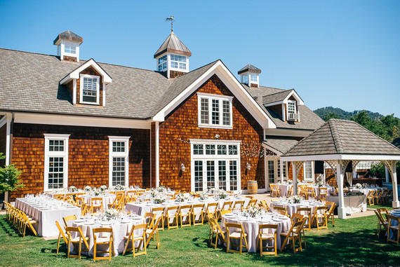 Spanish Oaks Ranch wedding reception