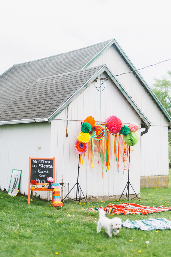 Colorful Photo Booth decor