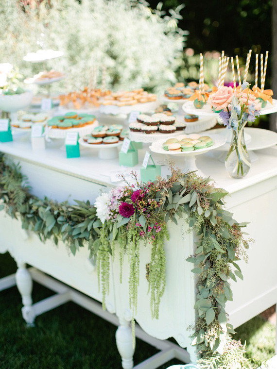 Breakfast bar for Baby Shower