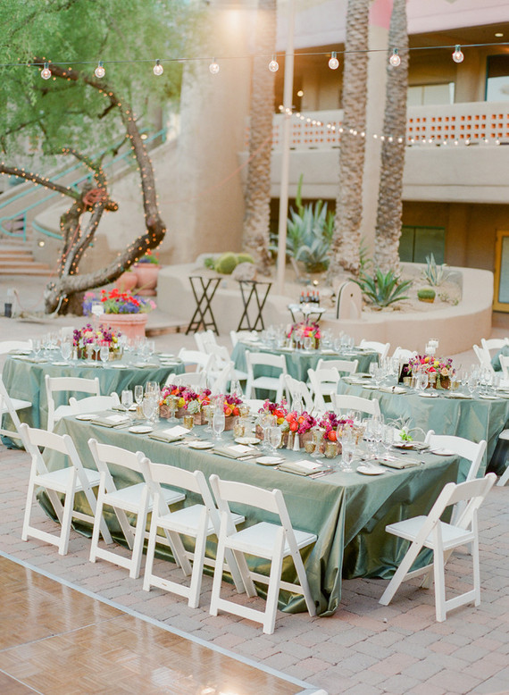 Arizona wedding tables cape