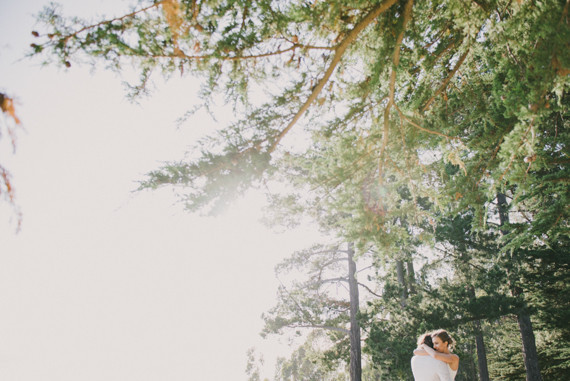 Big Sur wedding portrait