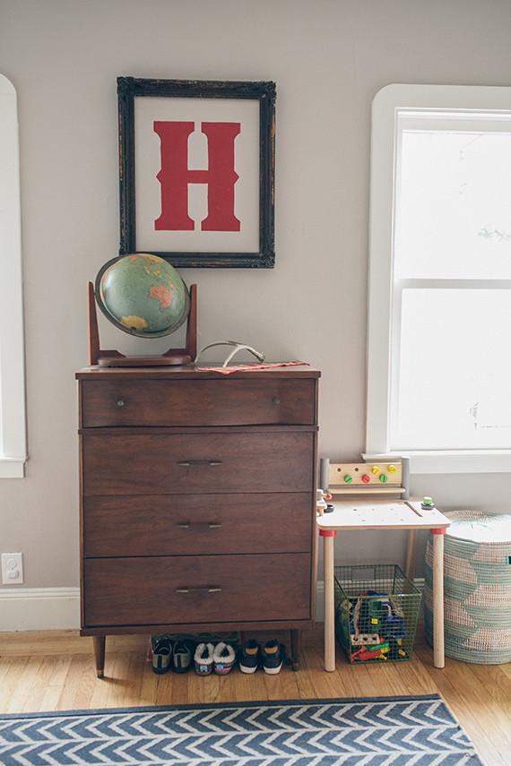 Modern Woodsy Boys Room