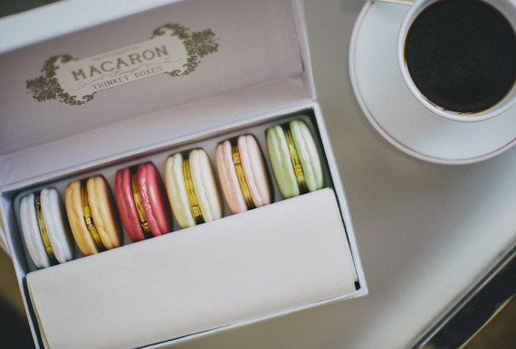 Macaron Jewel Box Bridesmaid Favors