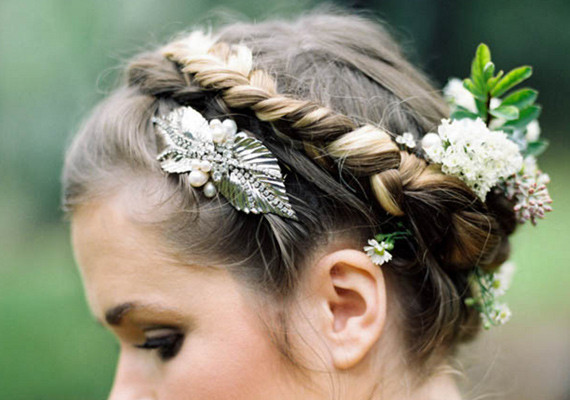 Twisted Floral Braid