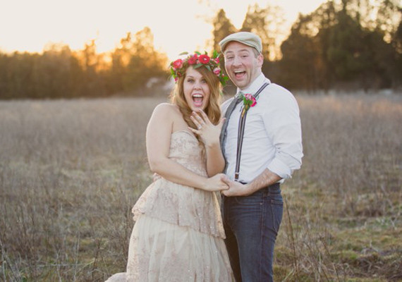 Bohemian Surprise Engagement