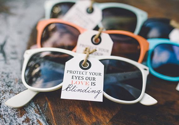 Colored Sunglasses Favors