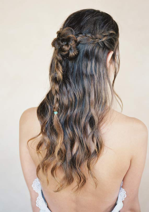 Twisted Braid Half Crown