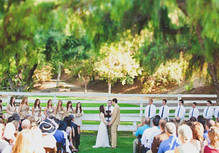 Vintage Southern County Fair Wedding Ceremony