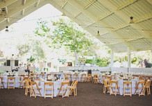 Vintage Southern County Fair Wedding Reception