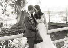 Vintage California Ranch Wedding Portrait