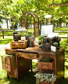 Vintage California Ranch Wedding Decor
