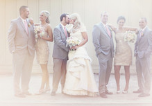 Virginia Vineyard Wedding Party