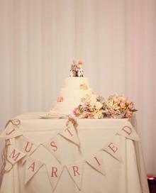 Virginia Vineyard Wedding Cake