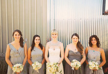 Napa Valley Wedding Bridesmaid