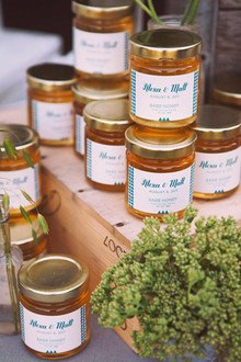 Napa Valley Wedding Honey Favors