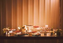 Napa Valley Wedding Dessert Table