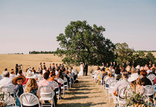 ranch wedding ceremony