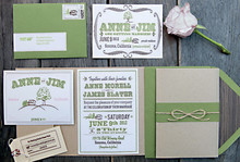 Green Invitations