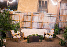 Vintage Austin Wedding Reception