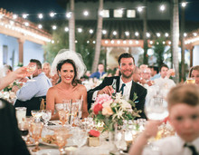 Southern California Wedding Reception