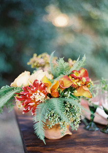Rustic Fall flowers