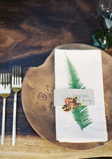 Rustic Fall place setting