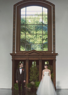 Wes Anderson Inspired Wedding Portraits