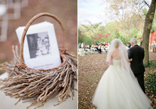 Vintage Outdoor Georgia Wedding