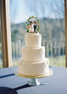 Napa Valley Wedding Cake