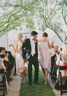 Whimsical Palm Springs Wedding