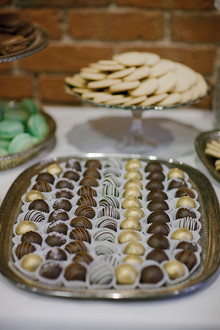 Vintage Glam Seattle Wedding Dessert