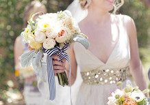 Romantic Palm Springs Wedding Bouquet