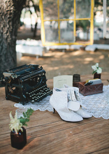 Vintage Woodland California Wedding Decor