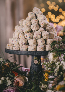 Vintage Wedding Food