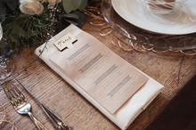 Menu place setting
