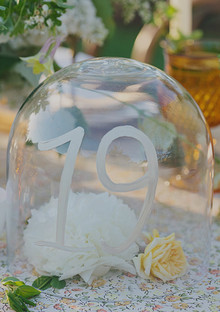 Southern Style Table Number